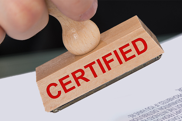 Certifying of True Copies